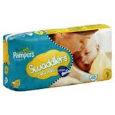 Pampers Swaddlers Sensitive Diapers Size 1