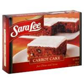 Sara Lee Frozen Carot Cake -19 oz
