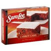 Sara Lee Frozen Carot Cake -19 oz