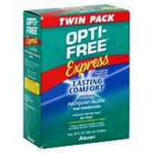 Opti-Free Express Mpds No Rub Formula Twin Pack - 20 Fl. Oz.