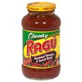 Ragu Sundried Tomato and Basil Spaghetti Sauce - 26 oz