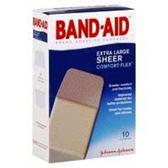 Band Aid Extra Large Plastic Bandages - 60 Count