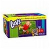 Luvs Premium Stretch Diapers Size 3 - 34 pk