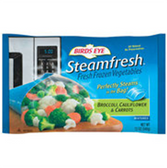 Birds Eye Steam Fresh Broccoli, Carrots,Sugar Snap Peas-12 oz