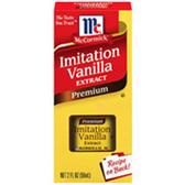 McCormick Imitation Premium Vanilla Extract -1 oz