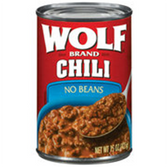 Wolf No Beans Chili -15 oz