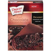 Duncan Hines Triple Chocolate Cake Mix -18.25 oz