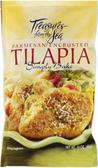 Treasures From the Sea - Parmesan Encrusted Tilapia -16oz