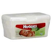 Huggies Natural Care Unscented Baby Wipe Tub