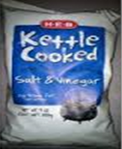 HEB Reduced Fat Kettle Chips -8oz