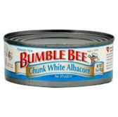 Bumble Bee Chunk White Albacore Tuna in Water -5 oz