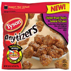 Tyson Frozen Anytizers Buffalo Style Boneless Chicken Bites-10oz