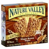Nature Valley Maple Brown Sugar Granola Bar -6 pk