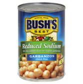 Bush's Best Beans Garbanzos (Chick Peas) Reduced Sodium-15.5 oz