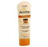 Aveeno Advanced Face Spf 30 Sunblock Lotion - 3 Oz