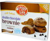 Enjoy Life Soft Baked Cookies - Double Chocolate Brownie Cookies