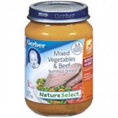 Gerber  Baby 3rd Food Mixed Vegetables & Beef