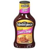 KC Masterpiece Sweet & Tangy BBQ Sauce -16 oz