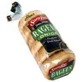 Sara Lee 6ct Deluxe Pre-Sliced Onion Bagels -22 oz