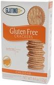 Glutino Crackers - Cheddar -4.4oz