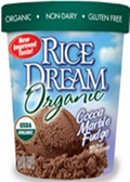 Rice Dream Ice Cream - Cocoa Marble Fudge -1 quart