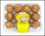 Fresh Banana Nut Mini Muffins - 12 ct