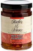 Fischer & Wieser Jelly - Red Hot Jalapeno -10.9oz