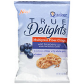 Quaker TrueDelight Multigrain Wild Blueberry  Rice Cakes-6 oz