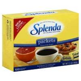 Splenda 200 Packets No Calorie Sweetener -7 oz