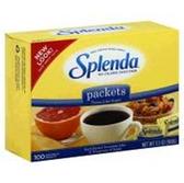 Splenda 200 Packets No Calorie Sweetener -7 oz