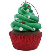 Holiday Merriment Confetti Cupcakes Mini Party Platter - 24 ct