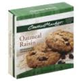 Central Market Cookie Dough Oatmeal Raisin -22oz