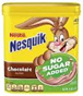 Nestle Nesquik Chocolate Mix With No Sugar -16oz