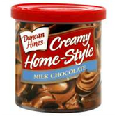 Duncan Hines Creamy Home-Style Milk Chocolate-16 oz