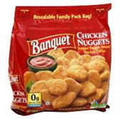 Banquet Chicken Breast Nuggets -26 oz