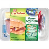 Lunchables Ham & American Sub Sandwich -4.7 oz
