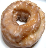 Glazed Sour Cream Donuts -3ct