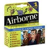 Airborne Lemon Lime Tablets Bonus - 10 Count