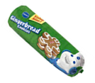 Pillsbury Gingerbread Chub Cookie Dough -30oz