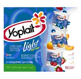 Yoplait Light Yogurt Variety - 18 pk