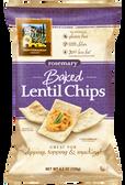Baked Lentil Chips Rosemary- Gluten Free - 4.5 oz