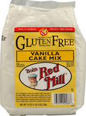 Bob's Red Mill Gluten Free Vanilla Cake Mix -21oz