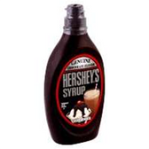 Hershey's Chocolate Syrup Bottle -24 oz