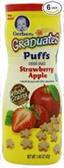 Gerber Fruit Puffs Strawberry Apple-1.48oz