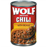 Wolf w/ Beans Chili -15 oz