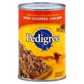 Pedigree Dog Food Chopped Chicken Dinner - 22 Oz