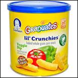 Gerber Graduates Lil Crunchies Veggie Dip-1.48oz