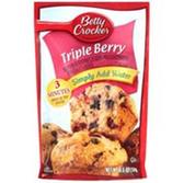 Betty Crocker Triple Berry Muffin Mix -15.3 oz
