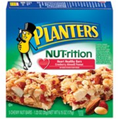 Planters Cranberry, Almond & Peanut Bar -5 pk