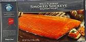 Wild Alaska Sockeye Smoked Salmon -4oz
